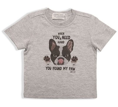 Camiseta Silk Bullgog Dame Dos Tamanhos 1/2/3