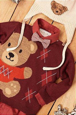Blusa Urso Sweater Dame Dos Tamanhos G/1/2/3/4/6