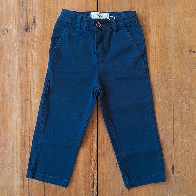 Calça Sarja Azul Marinho Dudes tamanho 1