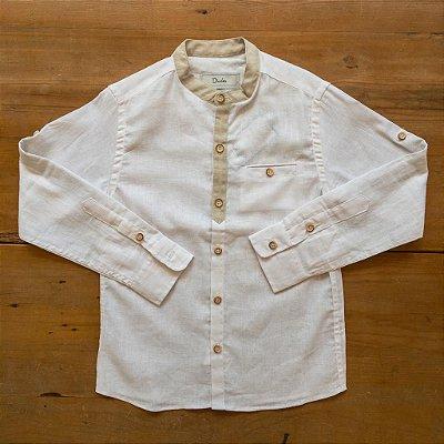 Camisa Bata Linho Dudes Tamanhos 6 e 8