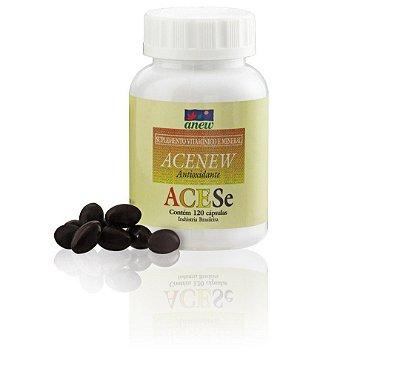 Acenew 120 cáps (Vitamina A, C, E selênio e zinco )