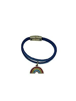 Pulseira Arco-íris Azul Bebe