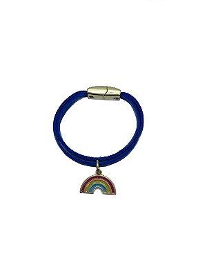 Pulseira Arco-íris azul forte