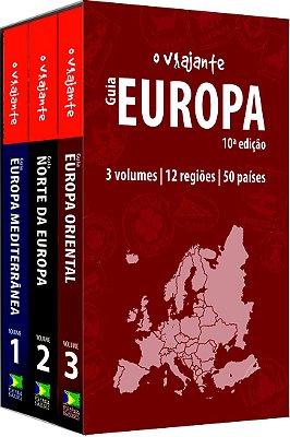 Box Guia O Viajante Europa – 3 volumes (10ª Edição) - ESGOTADO