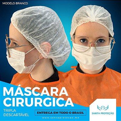 MÁSCARA CIRÚRGICA - TRIPLA SMS - 50 UNIDADES