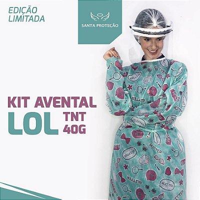 KIT Avental Lol em Tnt 40g - 2 Unidades
