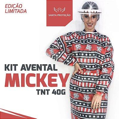 KIT Avental Mickey em Tnt 40g - 2 Unidades
