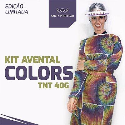 KIT Avental Colors em Tnt 40g - 2 Unidades