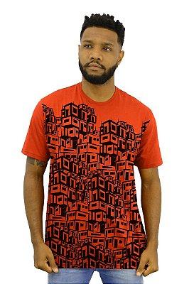 Camisa Masculina Favela Full D SAMBA