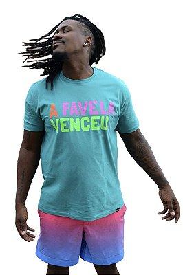 Camisa Masculina A Favela Venceu D SAMBA 21