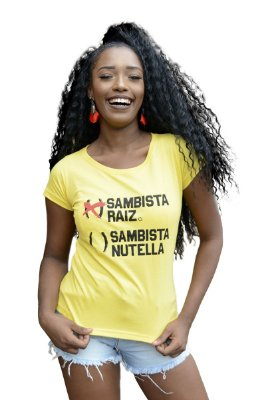 Blusa Feminina Sambista Raiz D SAMBA