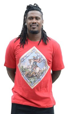 Camisa Masculina São Jorge Raiz D SAMBA 21