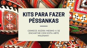 kit para fazer pêssanka