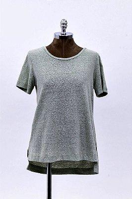 T-Shirt Podrinha Basic Menta