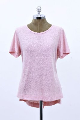 T-Shirt Podrinha Basic Rose