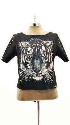 T-Shirt Suede Tigre Spike