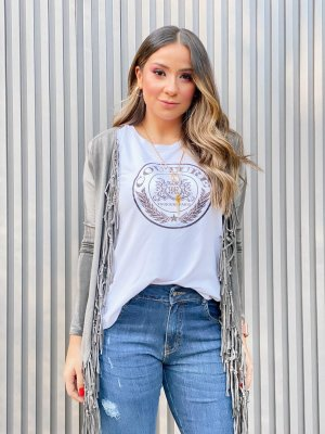 T-Shirt Patch Brasão