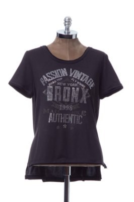 Tshirt Suedinho Preto Authentic Passion