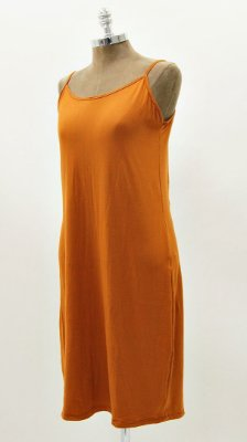 Vestido Suedinho Básico Telha Combinação Vestido Tela