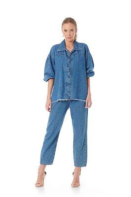 Camisa Ampla Jeans