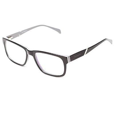 Armação de Óculos Camou Preto e Cinza