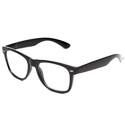 Armação de óculos Camou Reeves Preto
