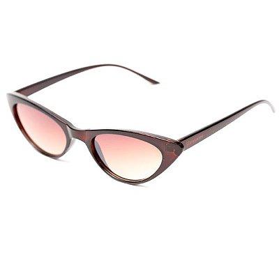 Óculos de Sol Camou Mini Cat Marrom