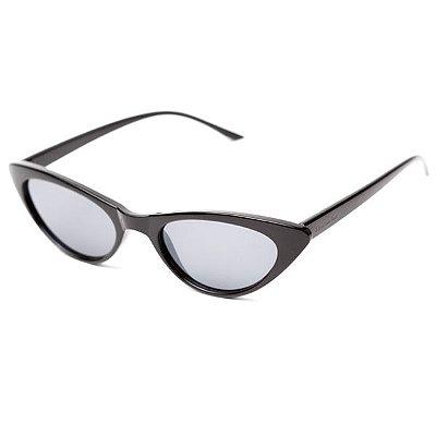 Óculos de Sol Camou Mini Cat Preto