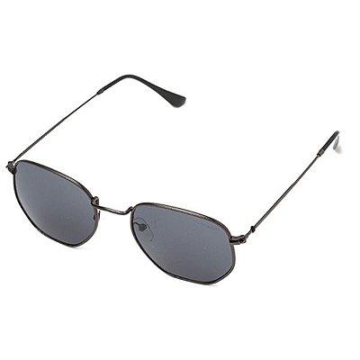 Óculos de Sol Camou Round Six Preto