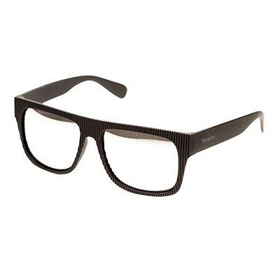 Óculos de Sol Camou Striped Hoop Prata