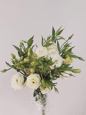 Lisianthus Branco - maço