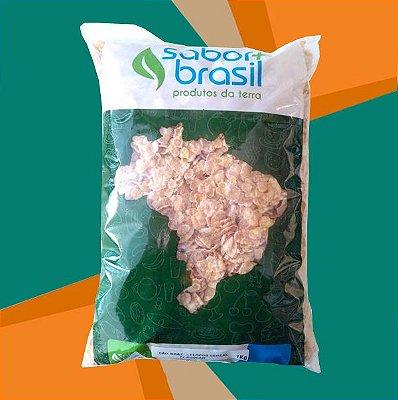 FLOCOS CEREAL COM AÇÚCAR SÃO BRAZ 1kg - SABOR MAIS BRASIL