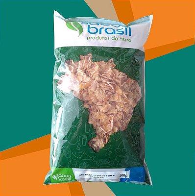 FLOCOS CEREAL COM AÇÚCAR SÃO BRAZ 500g - SABOR MAIS BRASIL