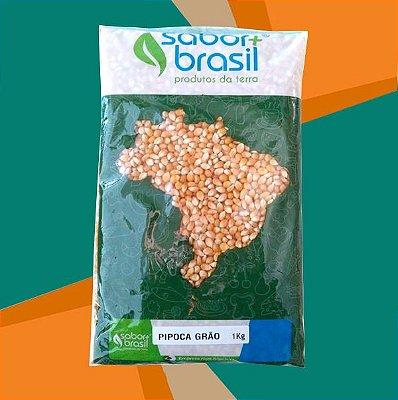 PIPOCA GRÃO 1kg - SABOR MAIS BRASIL