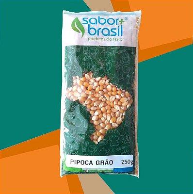 PIPOCA GRÃO 250g - SABOR MAIS BRASIL