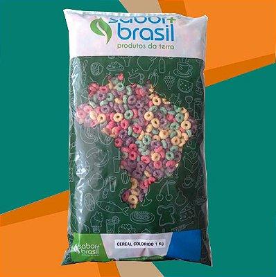 CEREAL COLORIDO SÃO BRAZ 1kg - SABOR MAIS BRASIL