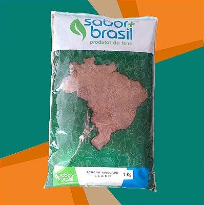 AÇÚCAR MASCAVO CLARO 1kg - SABOR MAIS BRASIL