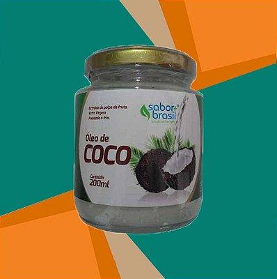 ÓLEO DE COCO EXTRA VIRGEM 200ml - SABOR MAIS BRASIL
