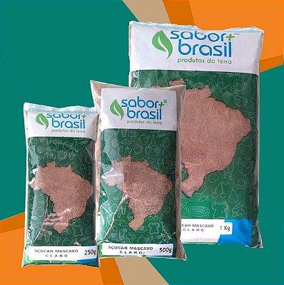 AÇÚCAR MASCAVO CLARO - SABOR MAIS BRASIL