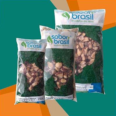 CASTANHA DO PARÁ QUEBRADA - SABOR MAIS BRASIL