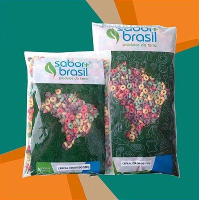 CEREAL COLORIDO SÃO BRAZ - SABOR MAIS BRASIL