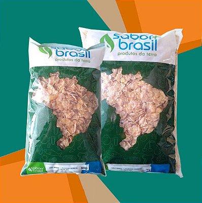 FLOCOS CEREAL COM AÇÚCAR SÃO BRAZ - SABOR MAIS BRASIL