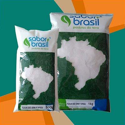 GOMA DE TAPIOCA (POLVILHO DOCE) - SABOR MAIS BRASIL