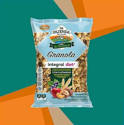 GRANOLA COM CASTANHAS INTEGRAL DIET 1kg - BIOSOFT