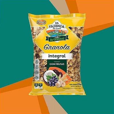 GRANOLA COM FRUTAS INTEGRAL 1kg - BIOSOFT