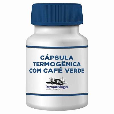 Cápsula Termogênica com Cordia ecalyculata e Café Verde - 60 Cápsulas