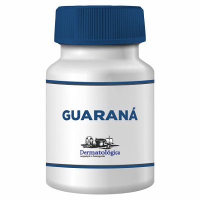 Guaraná – 500mg - 60 cápsulas