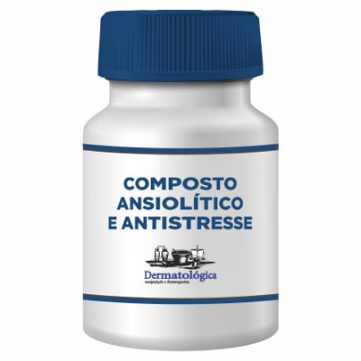 Composto ansiolitico e antistresse, para o controle emocional na TPM e Menopausa 30 doses