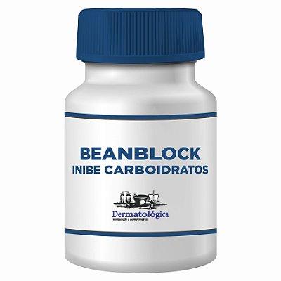 Capsulas com Beanblock (Faseolus vulgaris), auxiliar na inibição do carboidrato - Nova fórmula - Código 9228