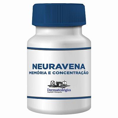 Neuravena 250mg para melhorar a concentração e desempenho da memória
